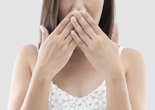 Pahanhajuinen hengitys on yleinen vaiva
